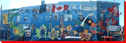 Canadian Moments Mural - Aurora, Ontario