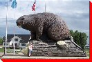 World's Largest Beaver - Beaverlodge, Alberta