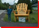 Adirondack Chair - Bridgewater, Nova Scotia