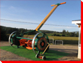 Giant Reel Lawn Mower, British Columbia