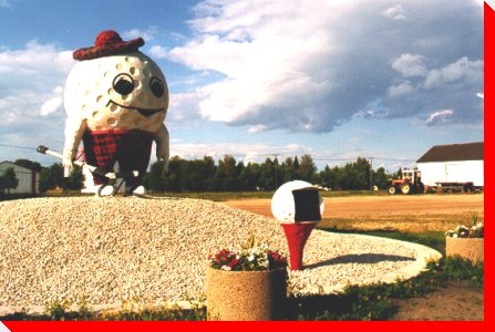 Gilbert the Golfer - Gilbert Plains, Manitoba