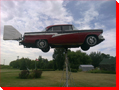 1956 Meteor Weather Vane - Graysvile, Manitoba