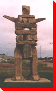 Inukshuk - Hay River, Northwest Territories