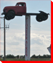 Truck on a Pole - Irricana, Alberta