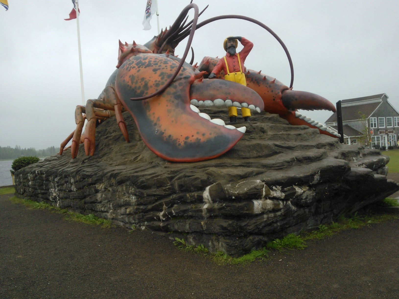 World's Largest Lobster - Shediac, New Brunswick