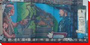 Largest Outdoor Historical Mural in North America - Midland, Ontario