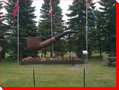 World's Largest Smoking Pipe - Saint Claude, Manitoba