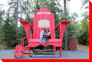 Northern Ontario's Largest Muskoka Chair - Thessalon, Ontario