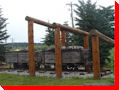 Antique Underground Coal Train - Canmore, Alberta